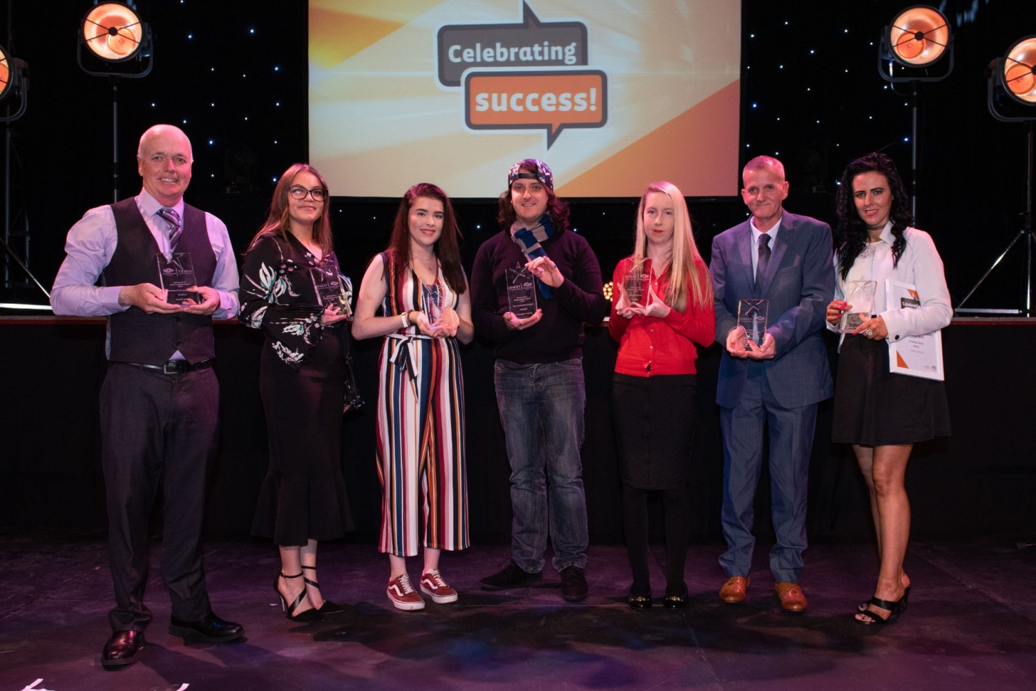 2018 Renfrewshire Employability Awards winners