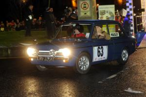Monte Carlo Classic Rally first car driven by Rosemary Smith