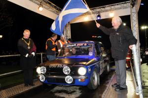 Monte Carlo Classic Rally Provost Hall Paddy Hopkirk
