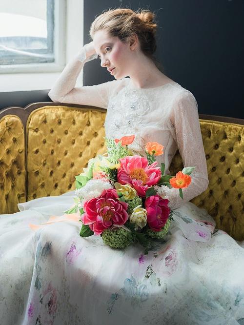 Bright Amp Beautiful Bridal Shoot Tulipina Floral Design