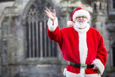 Paisley Town Centre Christmas Lights 2018 Switch-on