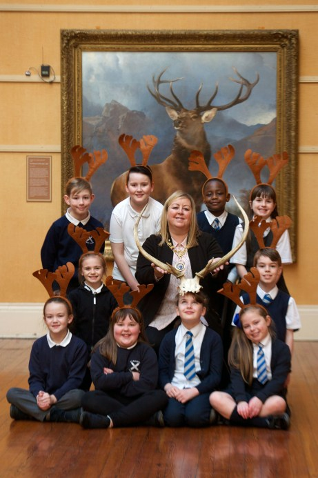 St Marys PS see Monarch of the Glen on display at Paisley Art Galleries