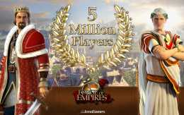 forge of empires 5 million players