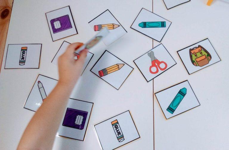 Επιστροφή στο σχολείο: 3 Εκτυπώσιμα παιχνίδια για να παίξετε μέσα στην τάξη
