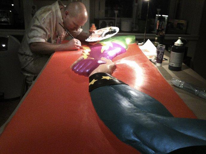 Paizano painting acryllic