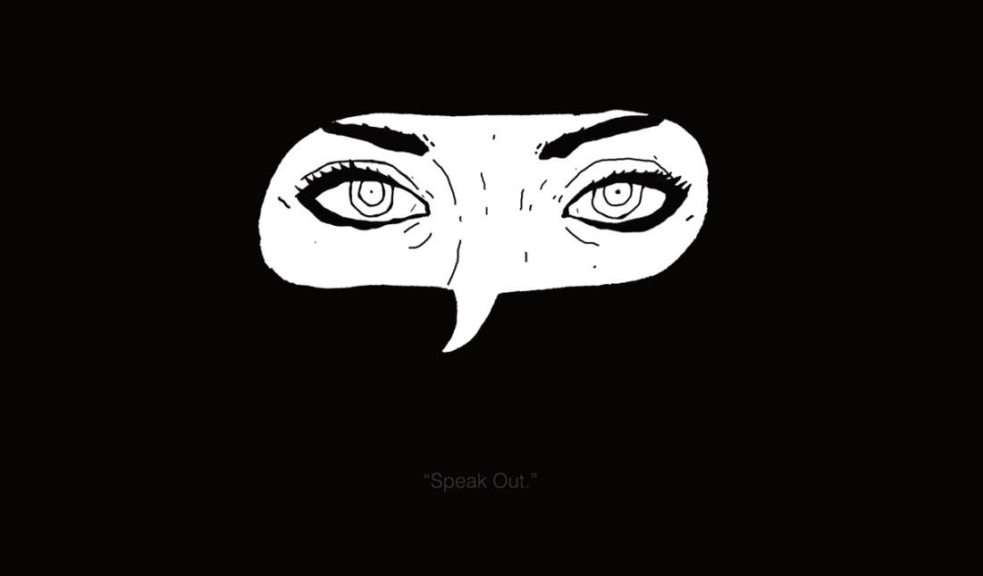 speak out illustration artwork