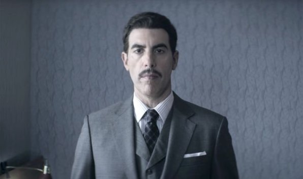Sacha Baron Cohen in Netflix's The Spy