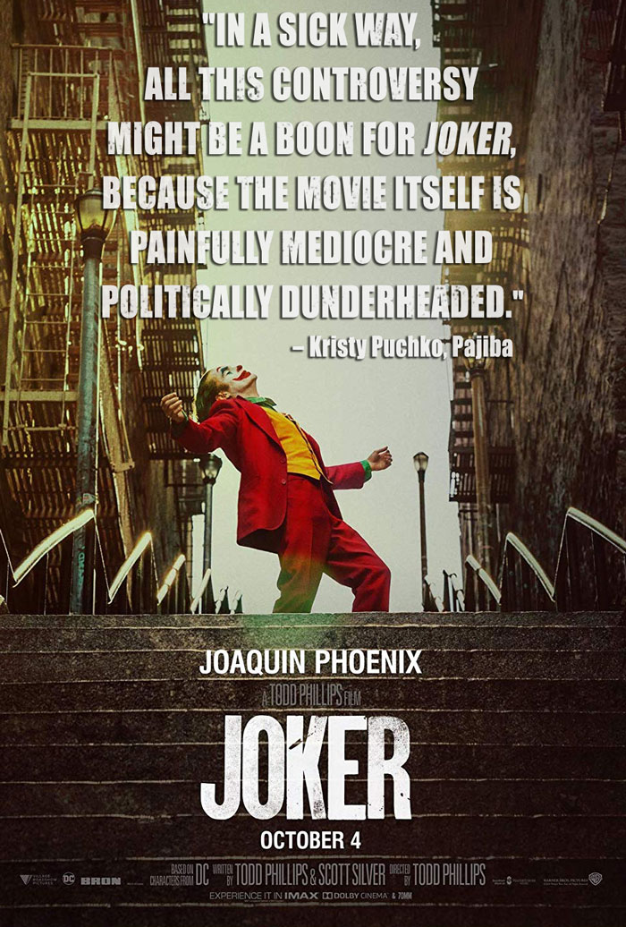 The Worst Movies Of 2019 Joker 6 Underground And
