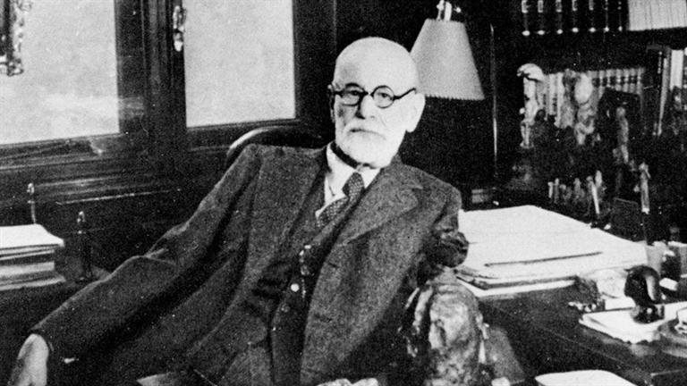 Sigmunt Freud, ojciec psychoanalizy.