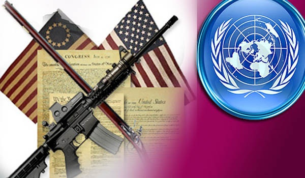 Video Obama Backup Gun Grab UN Treaty Confiscation Vote Soon