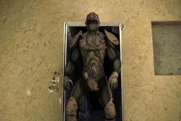 Pentágono Edificio soldados sobrehumanos del Futuro