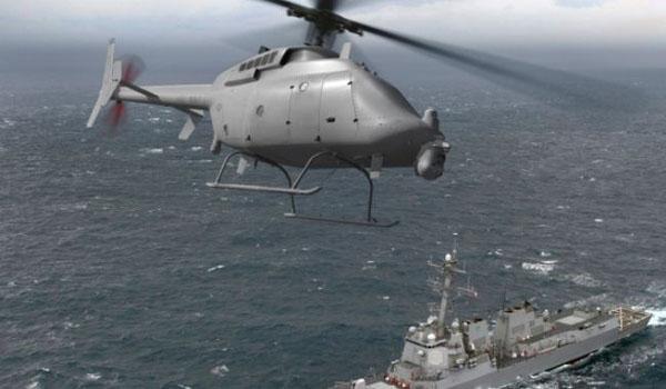 Marina de los EE.UU. revela nuevo avión no tripulado helicóptero