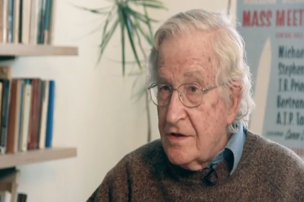 World ominously close to nuclear war – Noam Chomsky