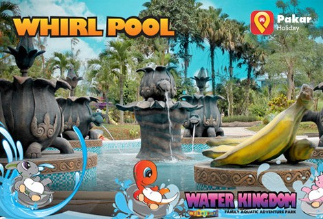 Paket Gathering Water Kingdom Full Day