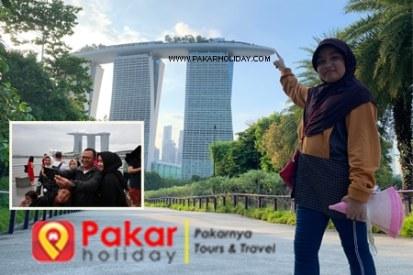 paket liburan murah singapore plus tiket pesawat
