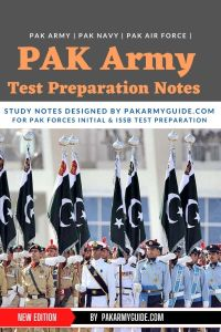 PAK Navy Test Preparation Notes