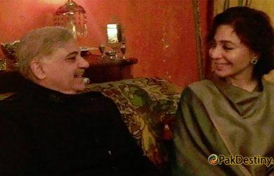 shahbaz sharif with tehmina durrani