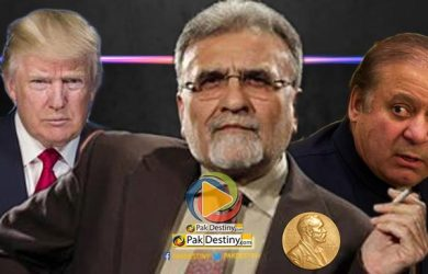 nusrat javed donald trump nawaz sharif nobel prize