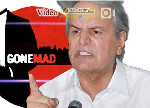 From Baghi to Daghi : Javed Hashmi now targets Pak Army