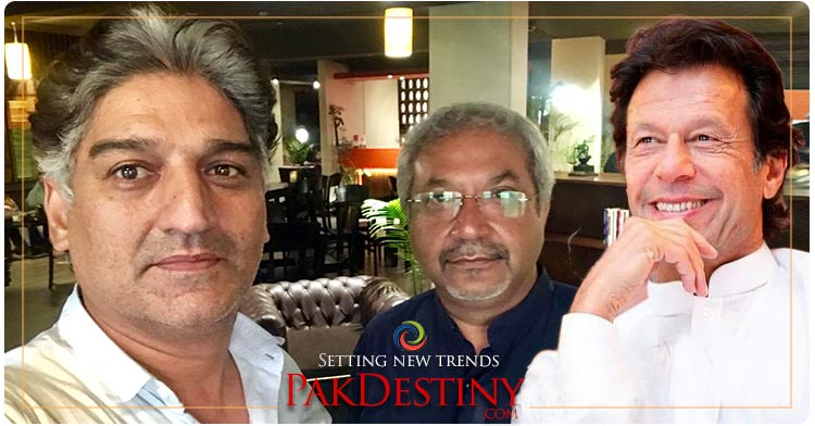Journalists Matiullah Jan and Siddiqui become jokers to taunt PM Khan
