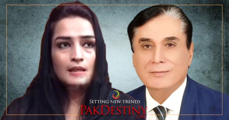 Tayyaba narrates her story about NAB chairman Javed Iqbal
