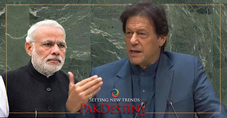 Perhaps the best speech ever on Kashmir made by Imran Khan in UN