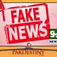 Another broadcast media -Neo TV- slapped with fine for fake news... will such news channels mend their ways mere fine of Rs1m