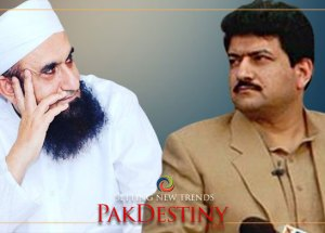 Hamid Mir shows mirror to Maulana Tariq Jamil, dares him to speak truth on media matters