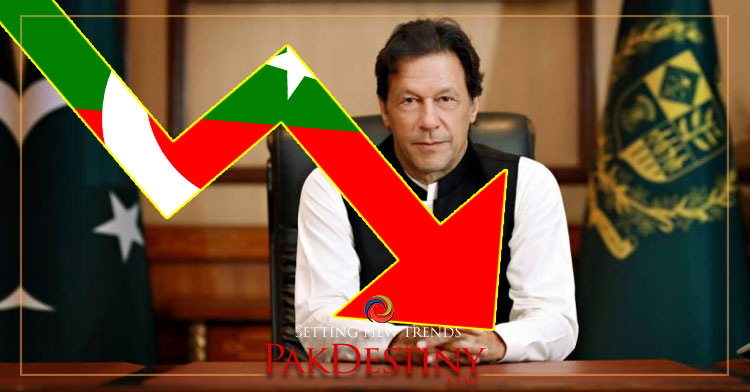 PTI's Popularity Graph Going Down at a Rapid Pace