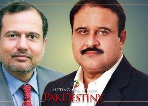 Raja Jehangir let down his boss - CM Buzdar -- before the media