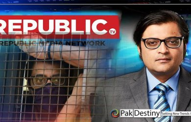 India's notorious anchor Arnab Goswami arrested -- finally a good lesson for barking dogs