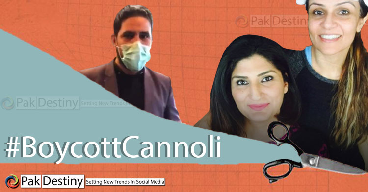 Twitter exploded on Friday with scorn pouring on two arrogant owner sisters of Cannoli by Cafe Soul