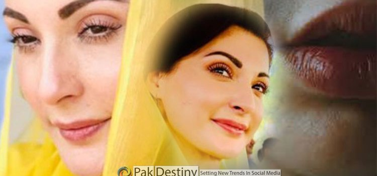 """Maryam Nawaz has """"philtrum"""" -- a lip lift surgery to make her looks more young and pronounced"""