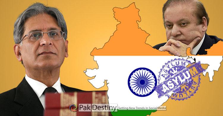 Aitzaz Ahsan said Nawaz Sharif may be offered asylum by India