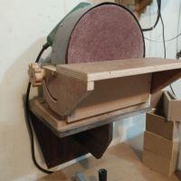 Disc sander dari circular saw