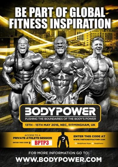 bodypower plakat