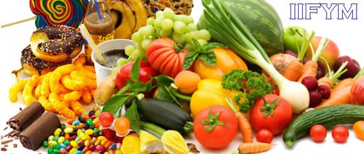 iifym dieta warzywa