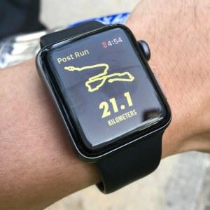 bieganie trasa zegarek