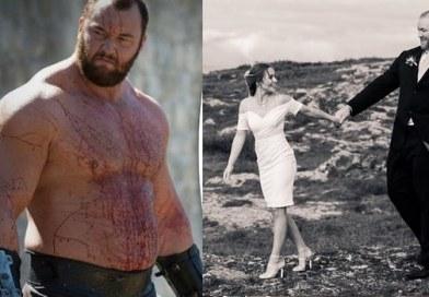 Hafþór Júlíus Björnsson góra z gry o tron wziął ślub