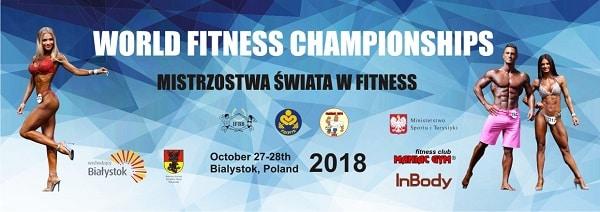 mistrzostwa Świata fitness białystok 2018