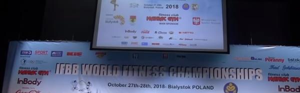 mś fitness białystok 2018 wyniki