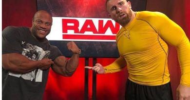 Phil Heath wwe wrestling z rawleyem mojo