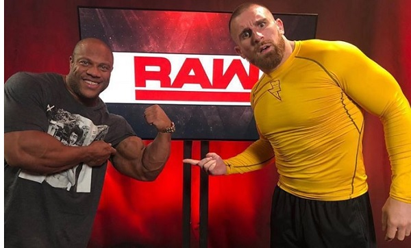 Phil Heath wwe wrestling z rawleyem mojo