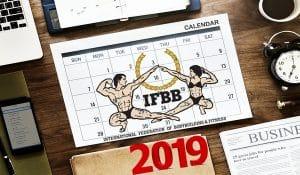kalendarrz zawodów ifbb 2019 kulturystyka i fitness