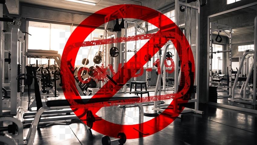 siłownia i sale fitness zamknięte przez koronawirusa
