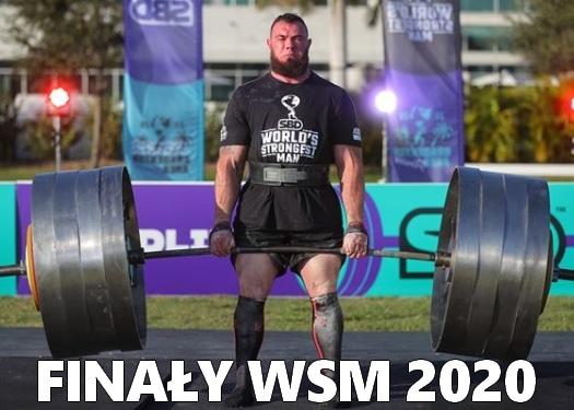wyniki najsilniejszy człowiek świata 2020 Oleksii Novikov