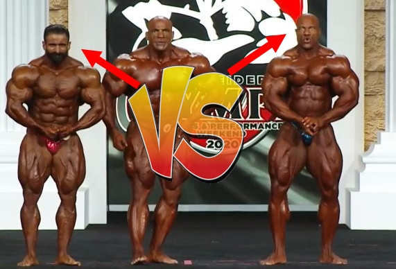 Hadi Choopan vs Phil Heath mr olympia 2020