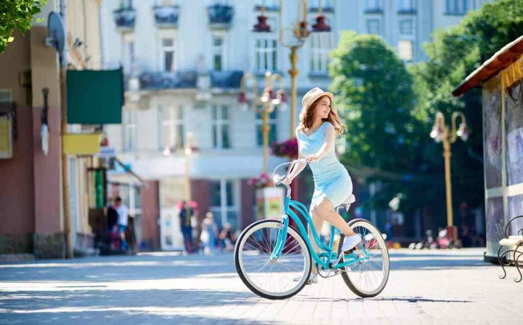 rower miejski odchudzanie