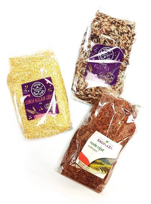 TIPA Compostable Plastic Packaging for Grains