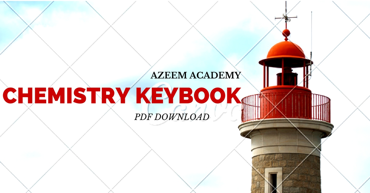 First Year Chemistry Azeem Academy Guide | Pakget